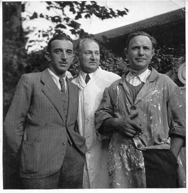 Giuseppe Carlo Bobbi con Castiglioni - fine anni 30