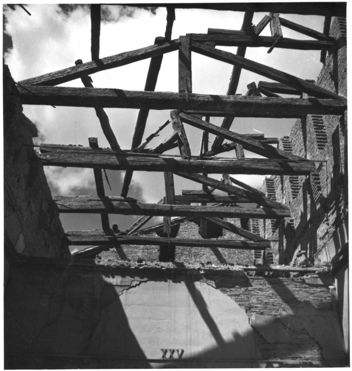 Pinacoteca di Brera bombardata 7e8 agosto1943