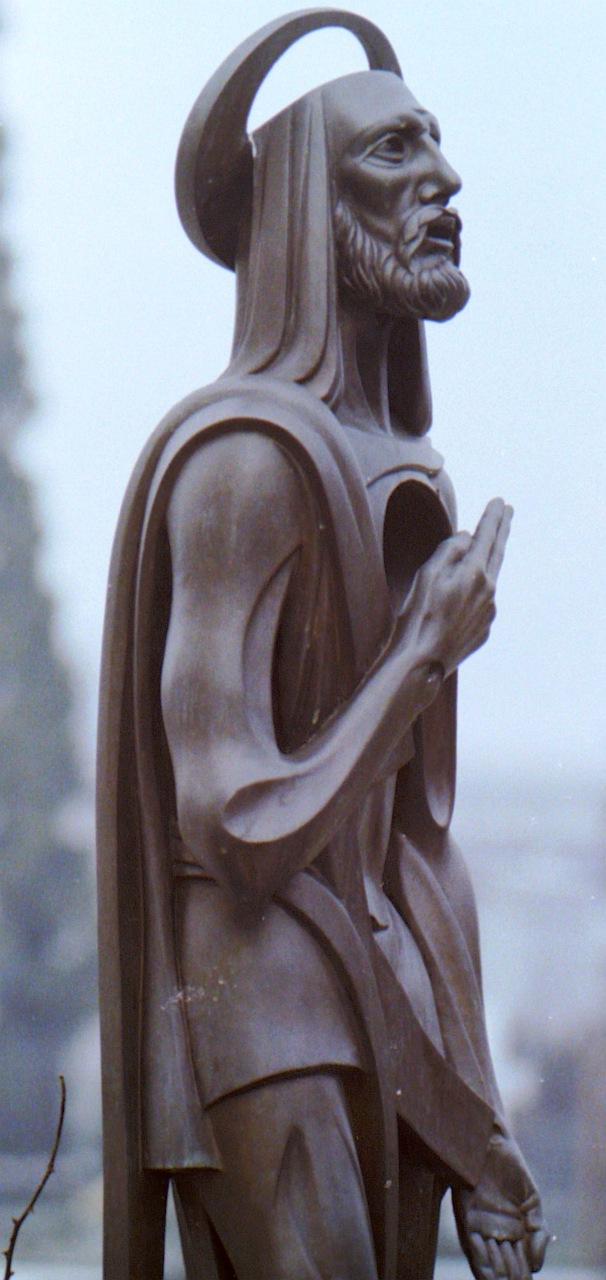 Orazio Bobbi - Sacro Cuole - Bronzo al Cimitero Maggiore di Milano