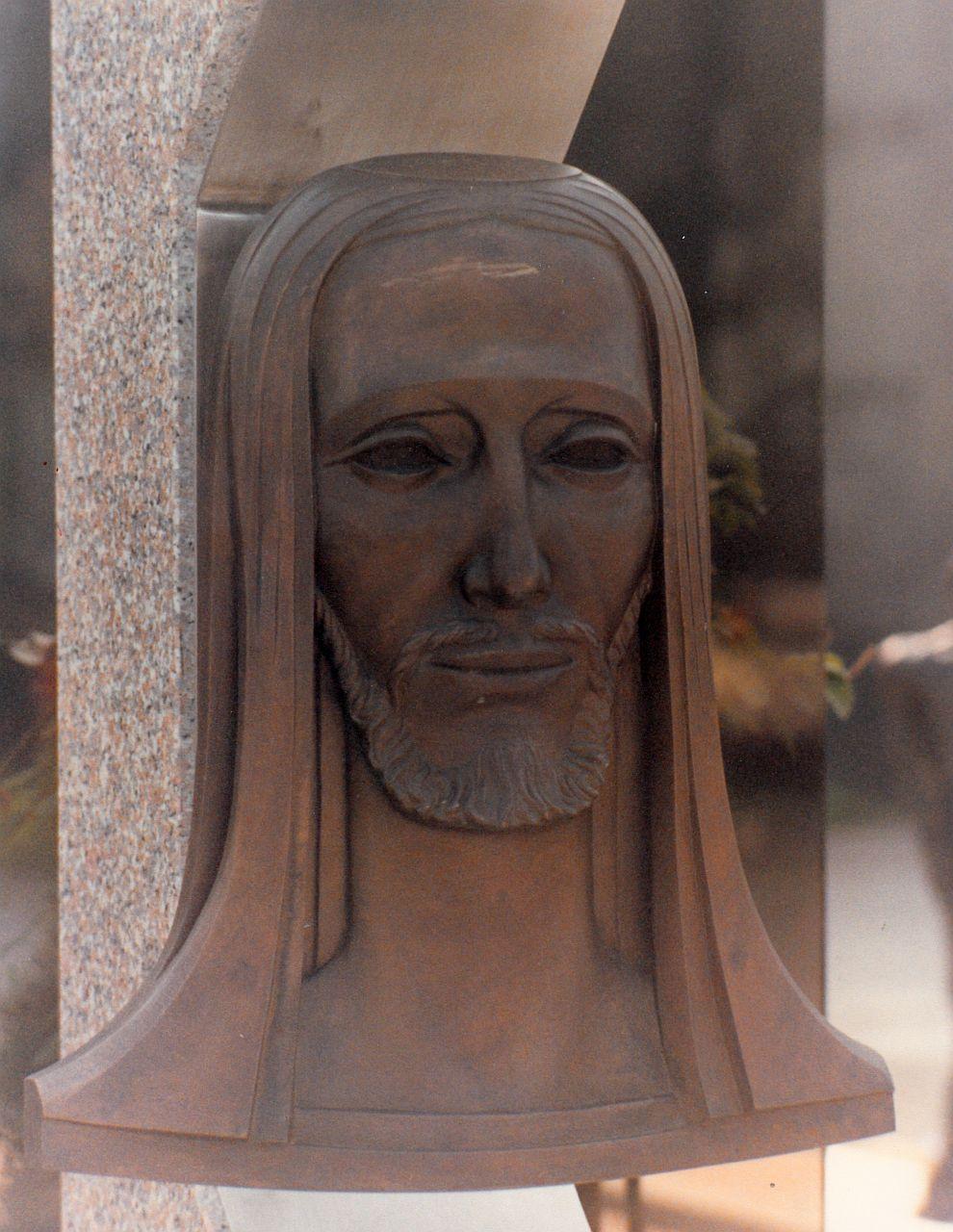 Orazio Bobbi - Il Redentore - Bronzo al Cimitero Maggiore di Milano