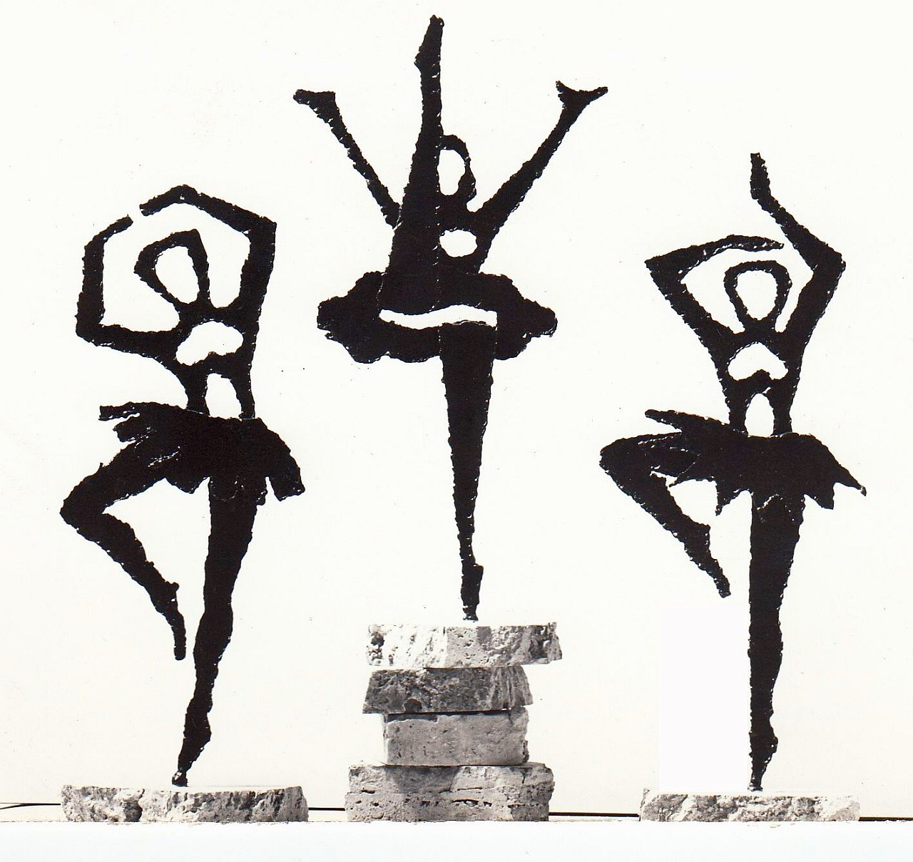 Orazio Bobbi - Tre Ballerine - Ferro